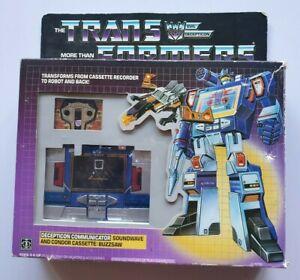 Transformers Vintage Soundwave Action Figure - Hasbro - 1984