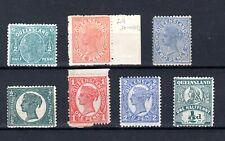 Queensland - 1890-1907 - mint selection