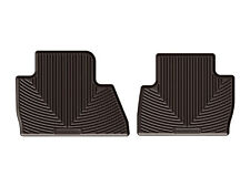 WeatherTech All-Weather Floor Mats for 2016 - 2018 Chevrolet Malibu Cocoa