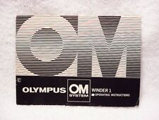 Olympus Winder 1 Instructions | $6.25 |