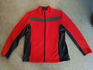 Spyder Encore Men's Sweater XXL Volcano Red $150 retail 2020