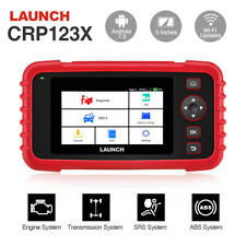 SALE! LAUNCH X431 CRP123X OBD2 Car Scanner Automotive Diagnostic Tool 4 System