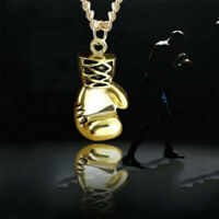 1pc Men Women Alloy Boxing glove Fight Warrior Necklace Pendant Chain Jewelry