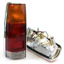 Chrome Tail Light Lamp Pair 83-88 Isuzu Rodeo KBZ26 KB21 LUV PUP Pickup Truck