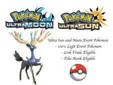 Pokemon Ultra Sun and Moon XYZ Shiny Xerneas Event Pokemon