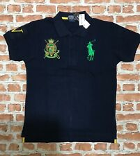 RALPH LAUREN Polo Shirt - Custom Fit - RL Large Embroidered Logo