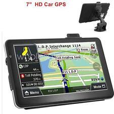 "7"" HD Touch Screen CAR TRUCK 8GB GPS Navigation Navigator SAT NAV MAPS INCH JJ"