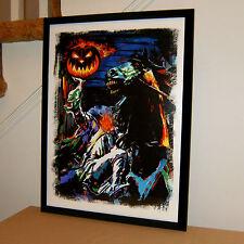 Headless Horseman Legend of Sleepy Hollow Halloween Print Poster Wall Art 18x24