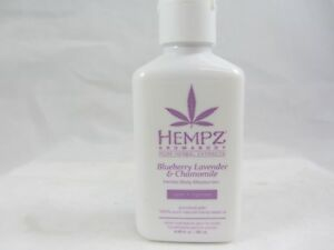 HEMPZ BLUEBERRY LAVENDER & CHAMOMILE MOISTURIZER BODY LOTION 2.25 OZ
