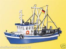 Kibri # 39161 Shrimp Boat Kit CUX 16  HO Scale MIB