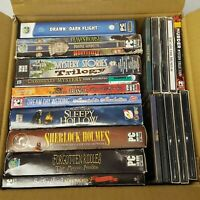 PC 20 Game Collection Lot 50+ Hidden Object Adventure Match 3 Mystery Riddles