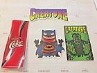Skateboard Sticker Set, Creature, Cherry Coke, Creature Set of 4