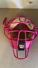 Pink Umpires Mask