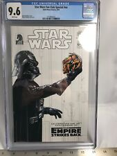 STAR WARS FAN CLUB CGC 9.6 (2010) Exclusive Hyperspace Final Issue Empire 30th