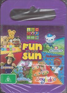 ABC For Kids DVD Fun In The Sun - Play School Octonauts The WotWots Fireman Sam