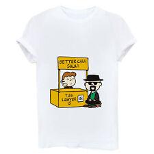 Better Call Saul Funny Women T-shirt Short Sleeve Cotton White Tops Tee Shirt