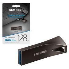 128GB Samsung MUF-128BE4EU Bar Plus USB 3.1 Flash Drive 300MB/s USB 3.1 128GB