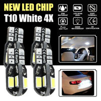 4X White T10 LED Parker Parking Lights For Holden VT VX VY VZ VE Commodore Cruze
