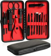 Manicure 15pcs Nail Care Kit Cutter Set Clippers  Pedicure Cuticle Tool Gift Set