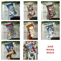Dimensions - Counted Gold Cross Stitch Kit - Christmas Stocking