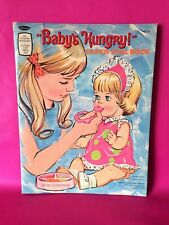 Vintage 1968 Whitman Publishing 'Baby's Hungry' Paper Doll Booklet