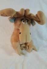 """1983 Dr. Seuss Thidwick the Big-Hearted Moose Plush Doll Toy 16"""""""