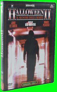 Halloween II 2 Il Signore della Morte USA 1981 Horror Cult Pulp Video Come nuovo