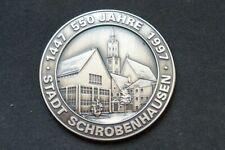 Medaille 550 Jahre Stadt Schrobenhausen