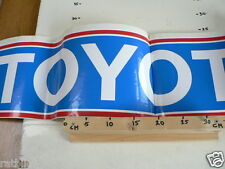 STICKER,DECAL TOYOTA VERY BIG SIZE IS FOLDED