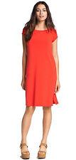 Nwt Eileen Fisher Firefly Bateau Neck K/L Viscose Jersey Dress S Brand New
