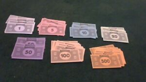Monopoly Cash Play Money (2008), Replacement Parts or Arts & Crafts