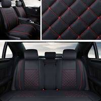 5 Seats New Luxury PU Leather Universal Car Seat Covers Cushion Universal