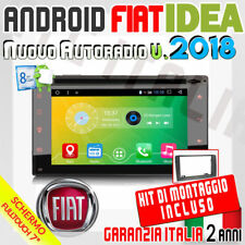"AUTORADIO 7"" Android 6.0  FullTouch FIAT IDEA / LANCIA MUSA BLUETOOTH,MP3,SD,..."