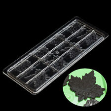 Maple Leaf Type Chocolate Mold Mould Bundle 3D Candy Cookies Tool PC DIY