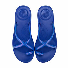 Womens Fit Flop iQushion Wave Pearlised Sandals in Illusion Blue