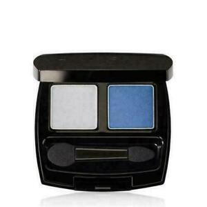 New Avon True Color Eye Shadow Duo NIGHT SKY -  Grey / Silver & Twilight Blue