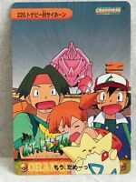Togepi Rhyhorn pokemon anime collection card very Rare JAPAN Free shipping