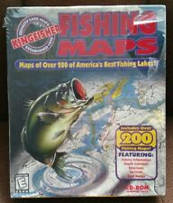 VTG Kingfisher Fishing Maps Big Box CD-Rom Windows 95/98 Valusoft (PC, 1999)