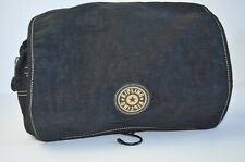 Kipling medium size cosmetic bag in black, VGC with logo