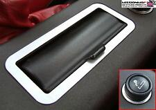 MGF & MG TF MGTF BRUSHED ALUMINIUM COIN BOX SURROUND & CIGARETTE LIGHTER TRIM