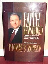 Faith Rewarded by Thomas S. Monson Prophetic Promises German Saints LDS Mormon