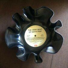 Retro Vintage Upcycled Vinyl Record Bowl