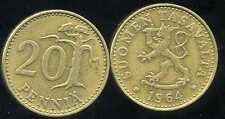 FINLANDE 20 pennia 1964  ( bis )