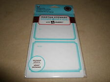 18 Martha Stewart Home Office Inkjet & Laser Shipping Labels~NEW IN PACKAGE!!