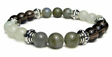 RELEASING THE PAST 8mm Crystal Intention Bracelet w/Description - Healing Stone