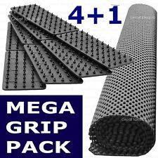 4 Mat Grips + Gripper Roll * Non Slip Carpet Rug Mat Runner Drawer Dining Table