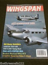 WINGSPAN #101 - WW2 TRAINERS - JULY 1993