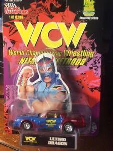 1998 NEW WWE/WCW 1/64th SCALE DIE-CAST NITRO-STREETROD- ULTIMO DRAGON [MOC]