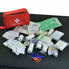 180pcs/pack Safe Travel First Aid Kit Camping Hiking Medical Emergency Treatment