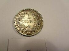Reichsmark, 1 Mark, Reichsmünze, 1903 Buchstabe A, silber,  unbehandelt, top (8)